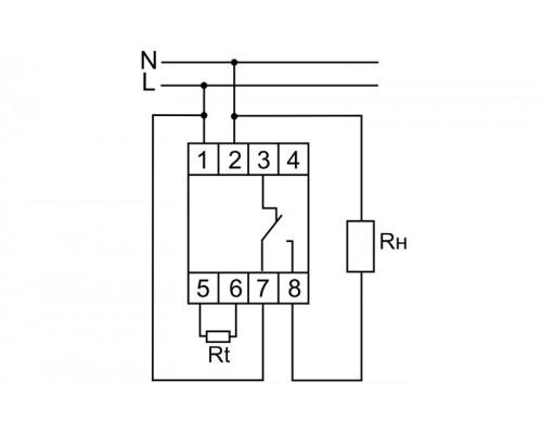 RT-821. Схема подключения