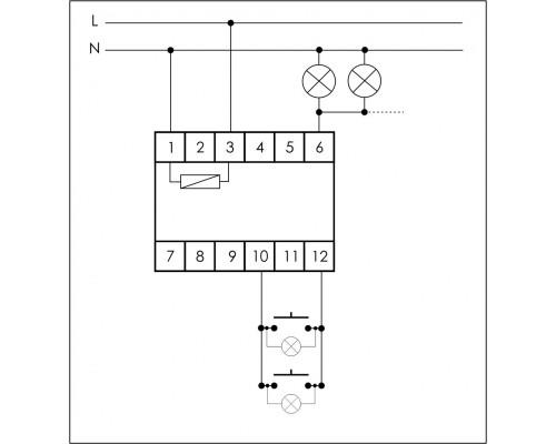 SCO-812. Схема подключения