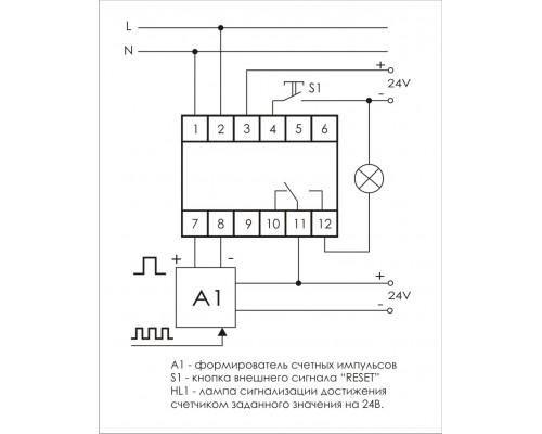 CLI-02. Схема подключения
