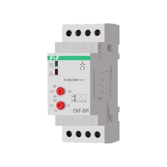 Реле контроля напряжения 3-фазное CKF-BR на Din-рейку