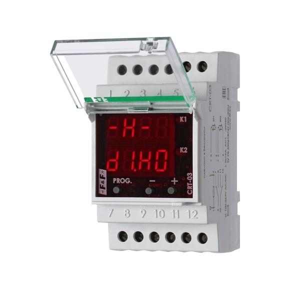 Регулятор температуры  CRT-03 на Din-рейку с датчиком