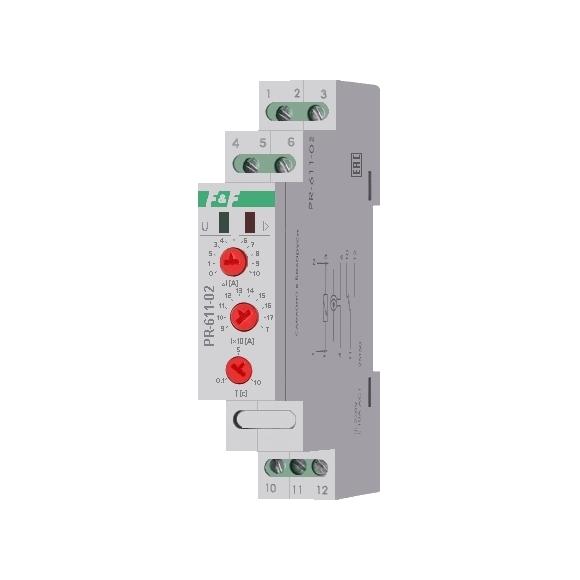Реле контроля тока PR-611-02 на Din-рейку