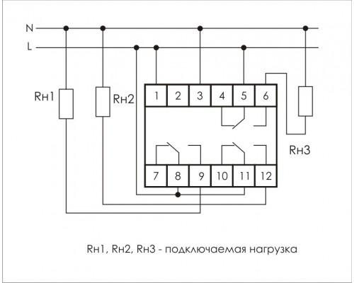 PCU-530. Схема подключения