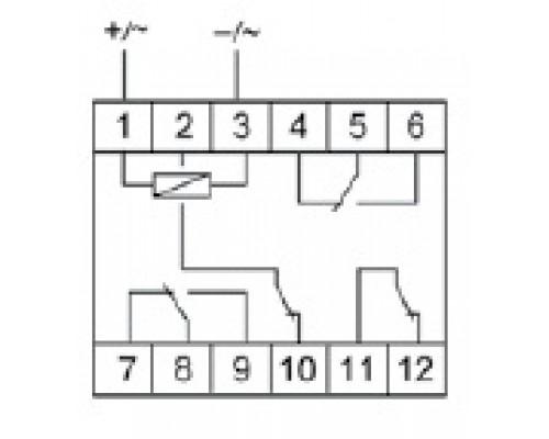 PK-4PR. Схема подключения