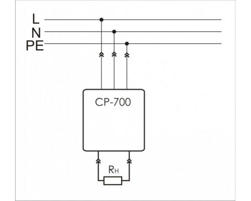 CP-700. Схема подключения