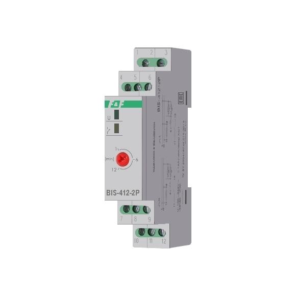 Реле импульсное (лестничный автомат) BIS-412-2P