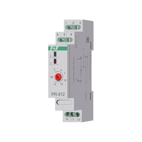 Реле тока приоритетное PR-612 на Din-рейку