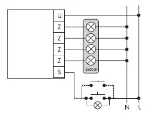 SCO-801. Схема подключения
