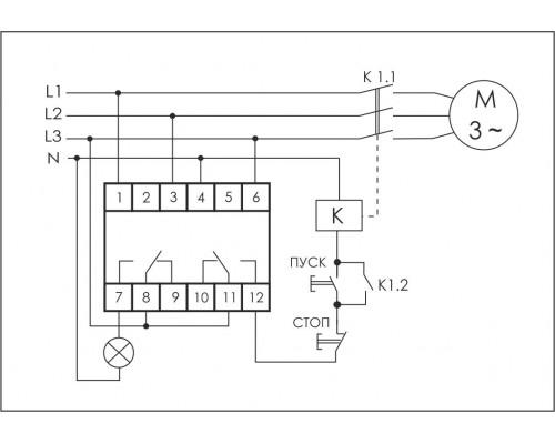 CKF-318-1. Схема подключения