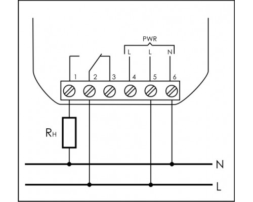 PK-1Z-230. Схема подключения