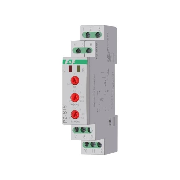 Реле контроля уровня жидкости PZ-818 на Din-рейку  (без датчика)