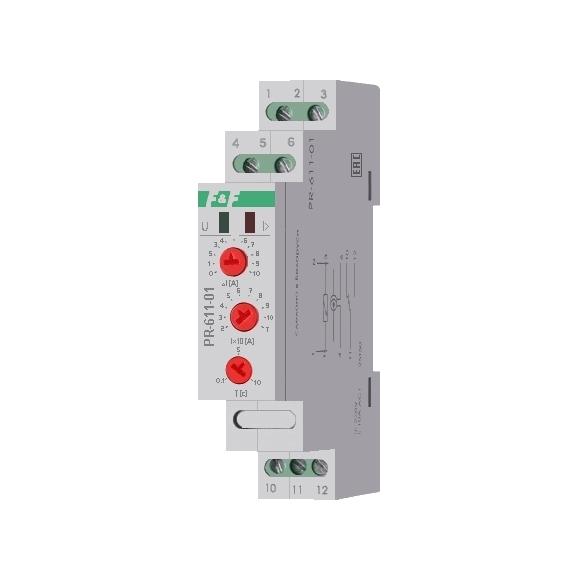 Реле контроля тока PR-611-01 на Din-рейку