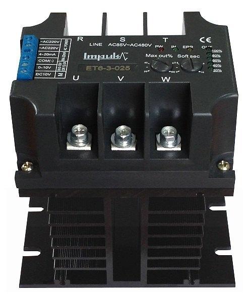 Трехфазные регуляторы мощности с фазовым управленим