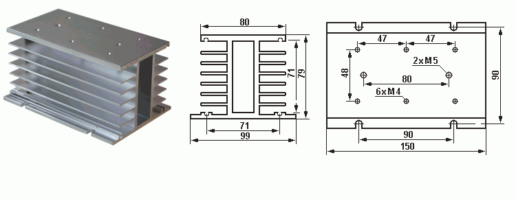 Радиатор ssr